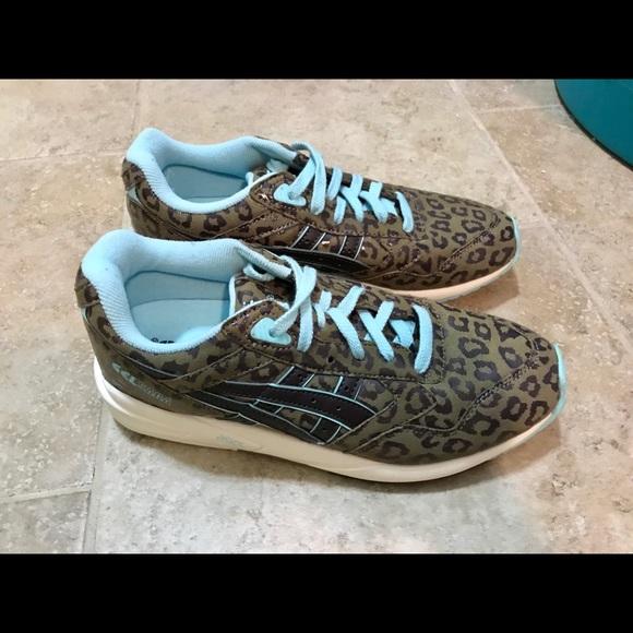 Asics Shoes   Asics Gel Saga Leopard